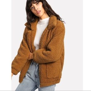 Soft Teddy Bear Jacket